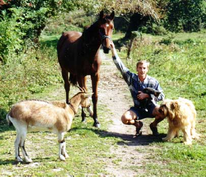 A excursion with our animals